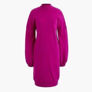 J.crew dress sweater pink sz:2X new wool party